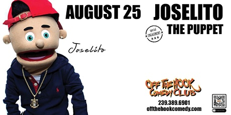 Joselito Dapuppet Live at Off The Hook Comedy Club in Naples, Florida tickets