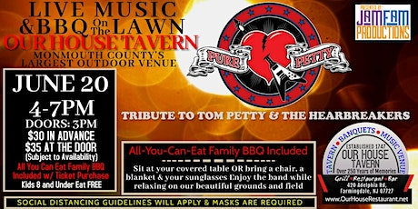 Pure Petty: A Tribute to Tom Petty & The Heartbreakers  @ OUR HOUSE TAVERN tickets