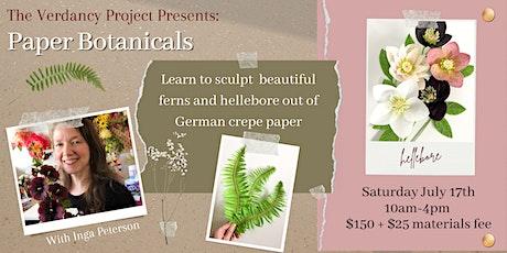 Paper Botanicals Workshop tickets