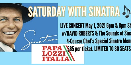 Saturday with Sinatra tickets