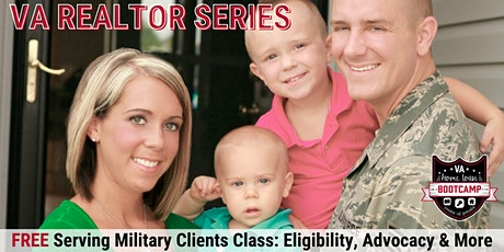 FREE Virtual Serving Military Clients Class: Eligibility, Advocacy & More! tickets