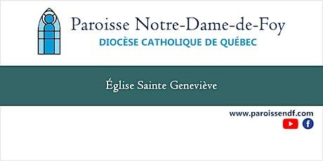 Messe Église Ste-Geneviève - Mercredi - 8 h 30 billets