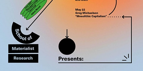 School of Materialist Research:  Spring and Summer 2021 Seminars tickets