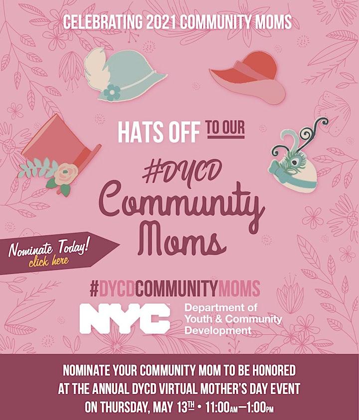 DYCD Community Moms Celebration 2021 image