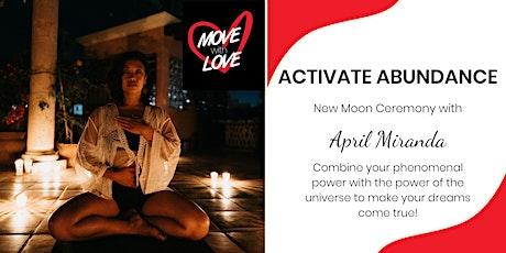 Activate Abundance - Taurus New Moon Ceremony Tickets