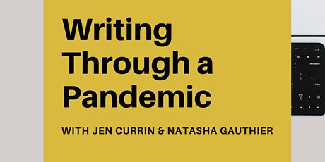 4-Week Interactive Writing Through a Pandemic Workshop tickets