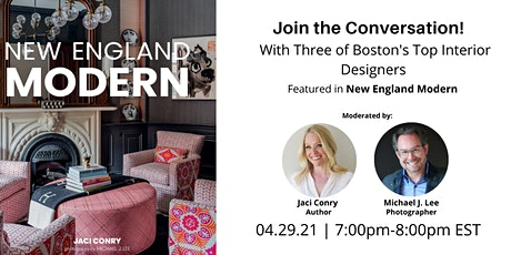 New England Modern: A Conversation With Boston's Top Interior Designers tickets