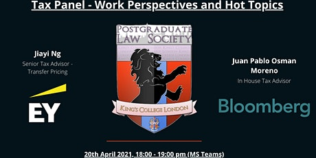 Career in Tax :  different work perspectives and tax hot topics tickets