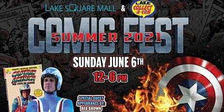 Lake Collect A Con Comic Fest at the Square 11th Annual tickets
