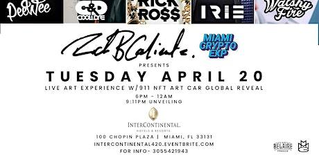 Rick Ross at Intercontinental Miami Live Art Experience tickets