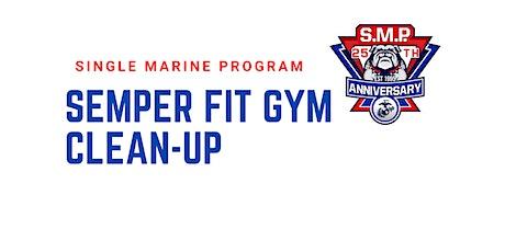 SM&SP Semper Fit Gym Clean-up tickets