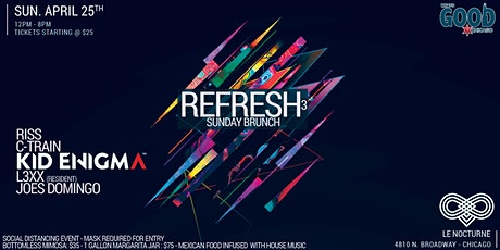 "What's Good Chicago? Presents ""Refresh"" Sunday Brunch 3 tickets"