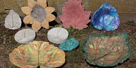 Paint/Purchase your own Yard Art/Bird Bath/Concrete Leaf for Mom tickets