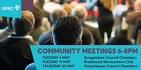 Queanbeyan Community Meeting tickets