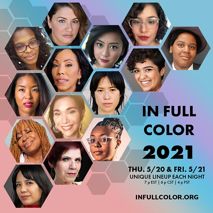 In Full Color 2021: Amplifying New Voices Thru Story, Song & Dance image