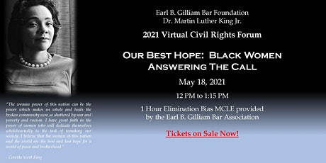 The 2021 Martin Luther King Jr. Civil Rights Forum tickets