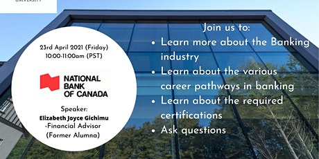 Career Information session, by National Bank of Canada tickets