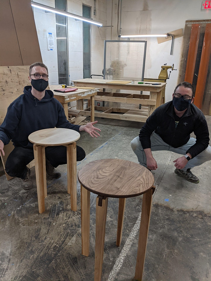 Introduction to Woodworking: Side Table Workshop image