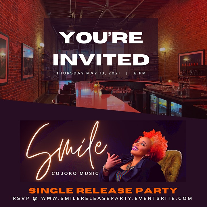 """Smile"" Release Party w/ CoJo Ko image"