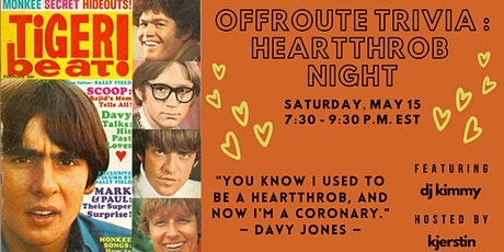 Offroute Trivia: Heartthrob Night tickets