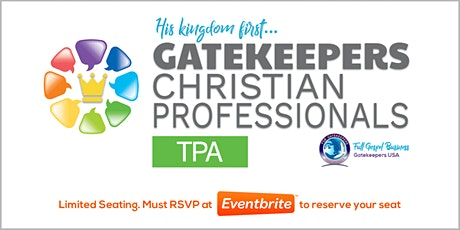 Christian Professionals Meeting TPA 5/12/2021 tickets
