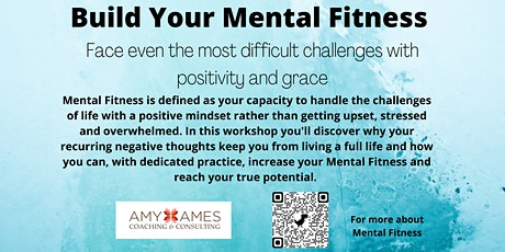 Mental Fitness How to stop the recurring negative thoughts - instantly tickets