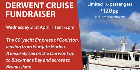 Toby4Franklin Derwent Cruise Fundraiser tickets