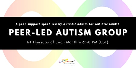 Peer-Led Autism Group tickets