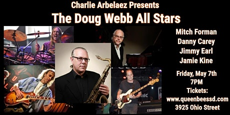 Charlie Arbelaez Presents The Doug Webb All Stars LIVE & Live-Stream tickets