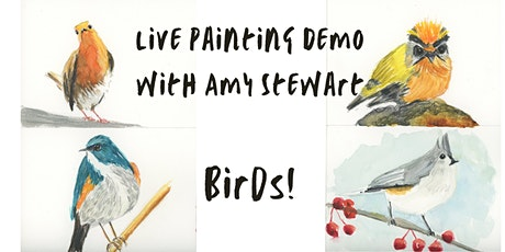 Live Painting Demo with Amy Stewart tickets