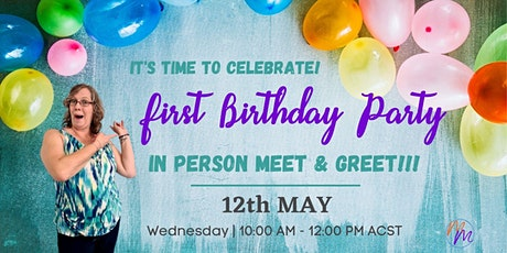 CELEBRATING OUR FIRST BIRTHDAY!!! tickets
