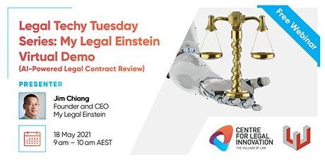 LTTS: My Legal Einstein Virtual Demo (AI-Powered Legal Contract Review) tickets