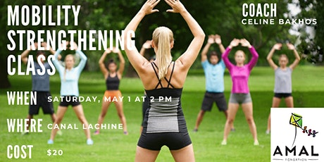 Mobility Strengthening Class with Celine tickets
