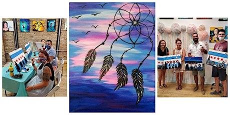 """BYOB Sip & Paint Class """"Dream Catcher"""" tickets"""