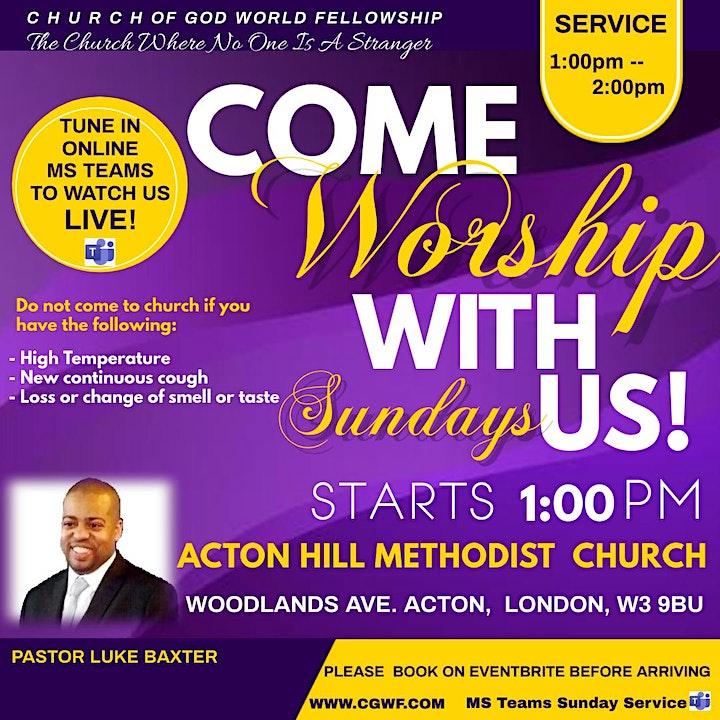 Acton Sunday Service image