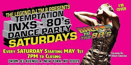 DJ TM.8's Temptation Saturday 80s Dance Party @DROM tickets
