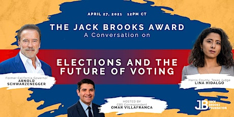 The Jack Brooks Award and Conversation on Elections & The Future of Voting tickets