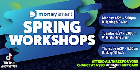 #MoneySmart Spring Workshops tickets