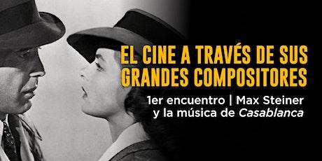 El cine a través de sus grandes compositores | 1er encuentro entradas