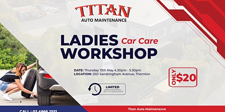 Ladies Car Care Workshop tickets