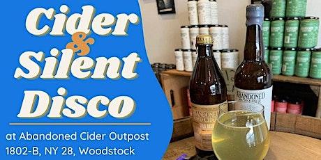 Cider & Silent Disco tickets