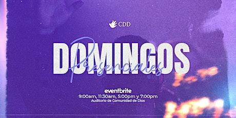 Reunión 7PM - Domingo 18/Abril boletos