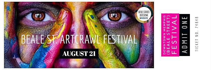 Beale Street Artcrawl Festival  (Downtown Memphis Beale Street) image