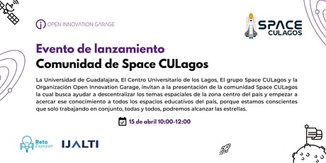 Lanzamiento de la Comunidad Digital de Space CULagos entradas
