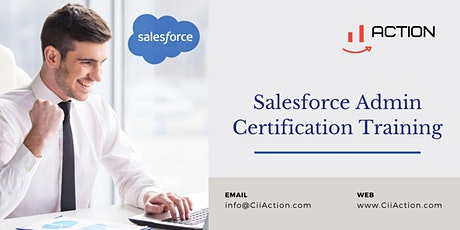 Salesforce Admin Training, Salesforce Administrator Certification tickets