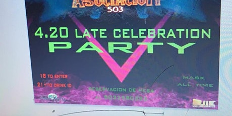 4-20 Late celebration Party at VEC Nightclub tickets