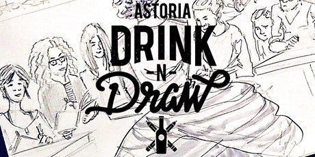 Tuesday 4/27 Astoria Drink N' Draw Online tickets