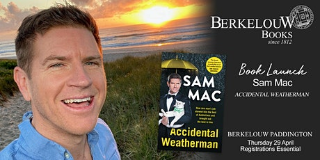 Book Launch: Accidental Weatherman by Sam Mac tickets