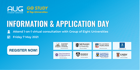 GO Study @ TOP Universities - Information and Application Day tickets