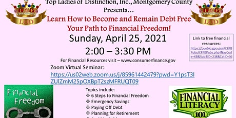 Learn How to Become and Remain Debt Free  Your Path to Financial Freedom! tickets
